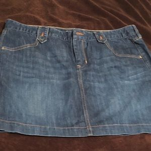 Old Navy Jean Skirt sz 16